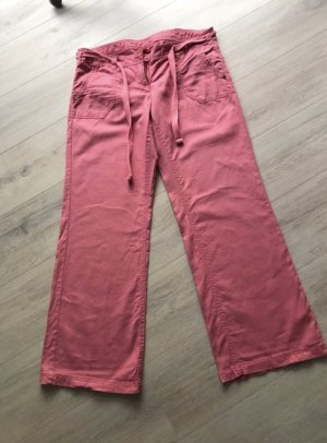 QS by s.Oliver Linen Pants salmon