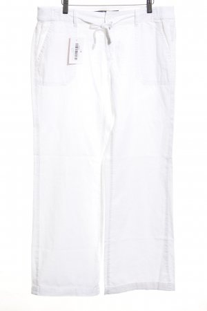 s.Oliver Linen Pants white beach look