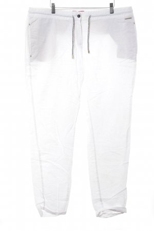 s.Oliver Linen Pants natural white casual look