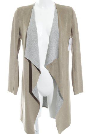 s.Oliver Long-Blazer beige-hellgrau Casual-Look