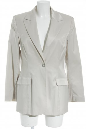 s.Oliver Long-Blazer creme Glanz-Optik