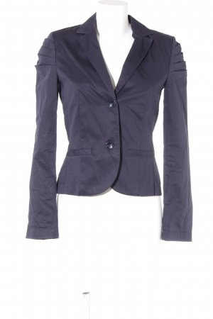 s.Oliver Long-Blazer dunkelblau Casual-Look