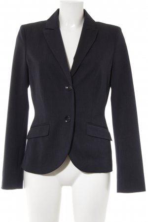 s.Oliver Long-Blazer dunkelblau Nadelstreifen Business-Look