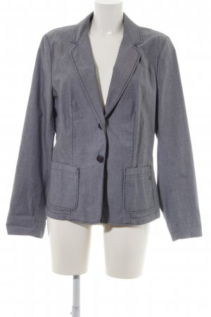 s.Oliver Long Blazer white-steel blue business style