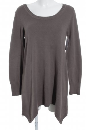 s.Oliver Longpullover graubraun Casual-Look