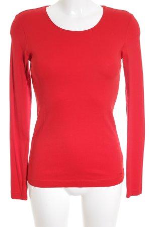 s.Oliver Longshirt rot schlichter Stil