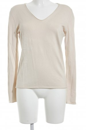 s.Oliver Longsleeve creme Casual-Look