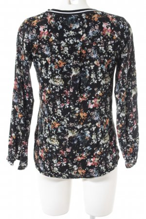 s.Oliver Longsleeve florales Muster Casual-Look
