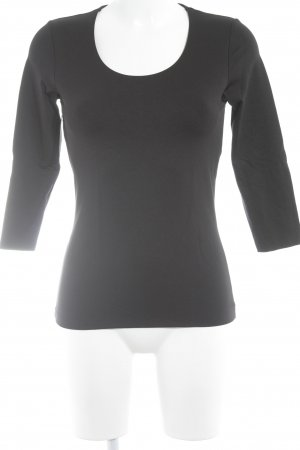 s.Oliver Longsleeve schwarz Business-Look