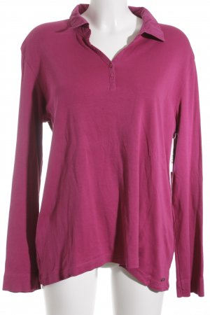 s.Oliver Longsleeve violett Casual-Look