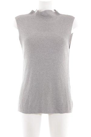 s.Oliver Top long gris clair style décontracté