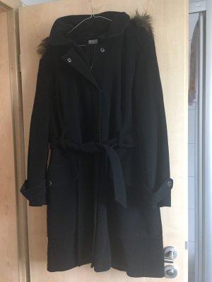 s.Oliver Abrigo de lana negro