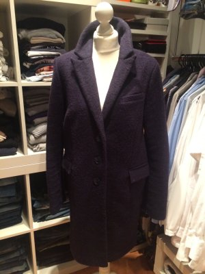 s.Oliver Heavy Pea Coat dark blue