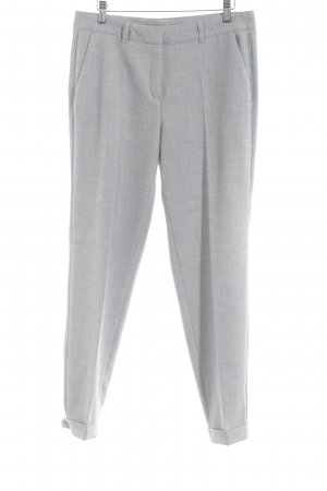 s.Oliver Marlene Trousers light grey flecked business style