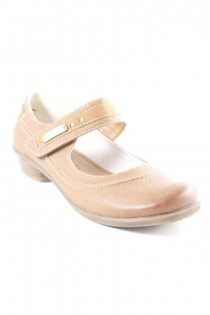 s.Oliver Mary Jane Ballerinas brown simple style