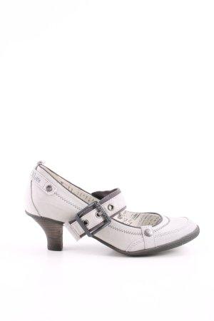 s.Oliver Escarpins Mary Jane blanc style décontracté