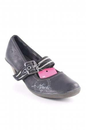 s.Oliver Mary Jane Pumps schwarz Casual-Look