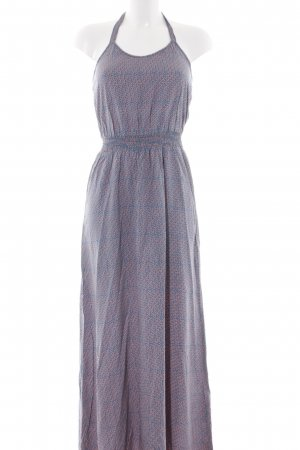 s.Oliver Maxikleid petrol-apricot Allover-Druck Beach-Look