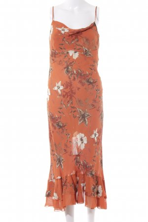 s.Oliver Midi Dress flower pattern '90s style
