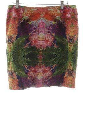 s.Oliver Midirock rot-grün florales Muster extravaganter Stil