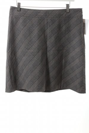 s.Oliver Minirock grau-lila Glencheckmuster schlichter Stil