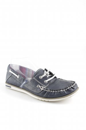 s.Oliver Moccasins dark blue casual look