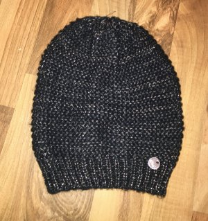 s.Oliver Knitted Hat silver-colored-dark blue