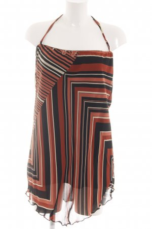 s.Oliver Halter Dress mixed pattern casual look