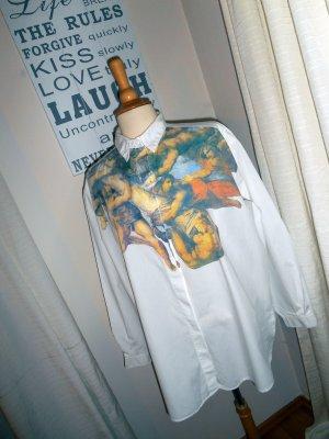 s.Oliver Oversize Hemd mit außergewöhnlichem Druck