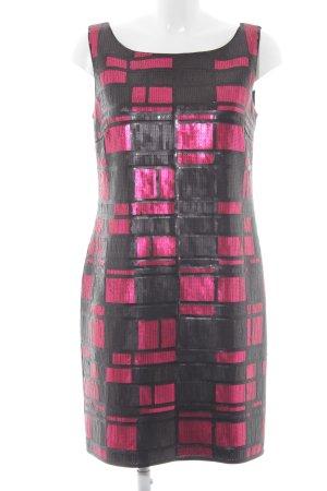 s.Oliver Sequin Dress magenta-black wet-look