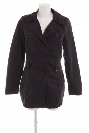 s.Oliver Parka dunkelblau Casual-Look