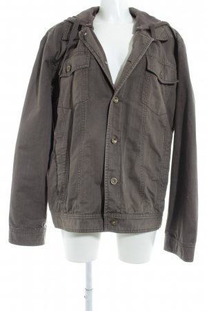 s.Oliver Parka graubraun Casual-Look