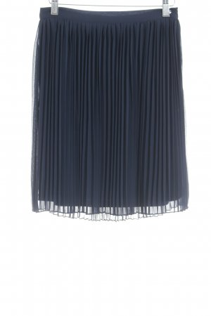 s.Oliver Pleated Skirt dark blue casual look