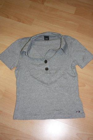s.Oliver Poloshirt, grau, Gr. 34, kaum getragen