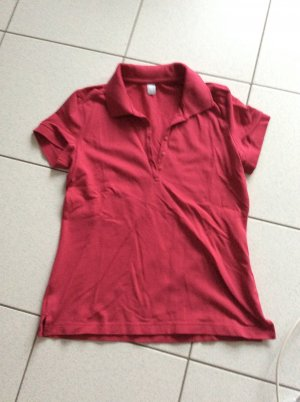 s.Oliver Polo rosso lampone