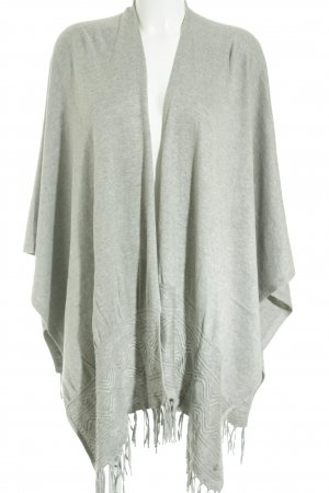 s.Oliver Poncho grau Casual-Look