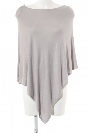 s.Oliver Poncho hellgrau Casual-Look
