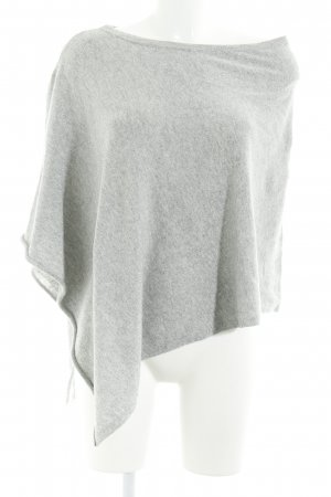 s.Oliver Poncho light grey flecked casual look
