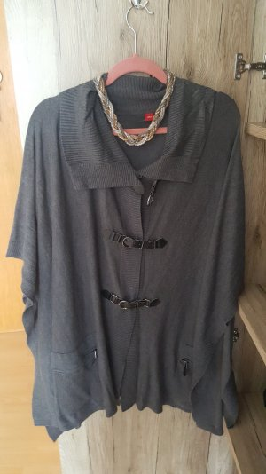 s.Oliver Oversized Jacket black-grey
