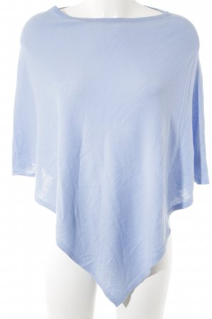 s.Oliver Poncho cornflower blue casual look