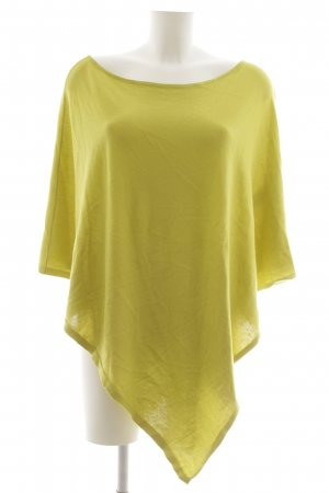 s.Oliver Poncho limettengelb Casual-Look