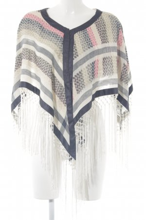 s.Oliver Poncho mehrfarbig Boho-Look