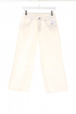 s.Oliver Premium 7/8 Jeans wollweiß Street-Fashion-Look
