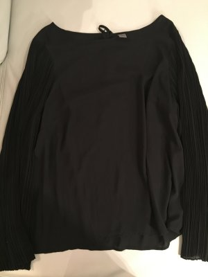 S.Oliver Premium, Chiffonbluse, Bluse mit weiten Ärmeln, schwarz, Gr. 42 wie NEU
