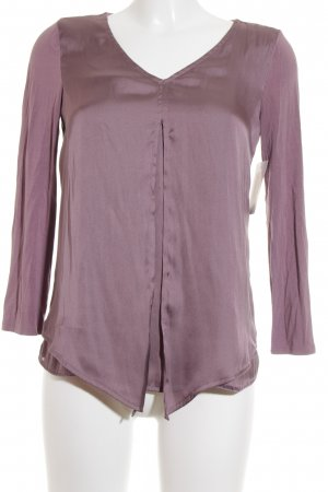 s.Oliver Premium Langarm-Bluse blasslila Elegant