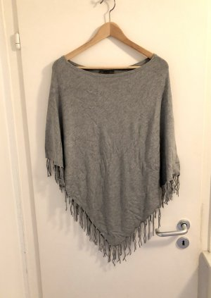 s.Oliver Poncho gris clair