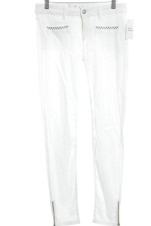 s.Oliver Premium Skinny Jeans weiß schlichter Stil