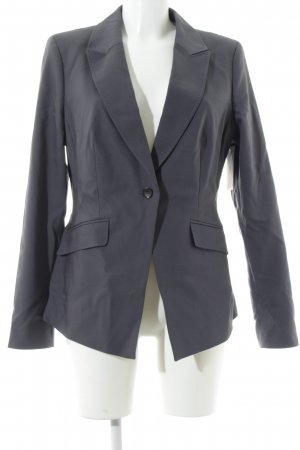 s.Oliver Premium Unisex-Blazer graublau-anthrazit Business-Look