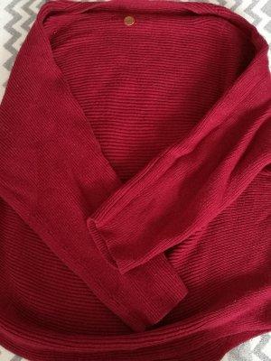 Anastacia by s.Oliver Cardigan en maille fine rouge foncé