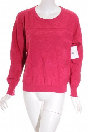 s.Oliver Pullover magenta Casual-Look